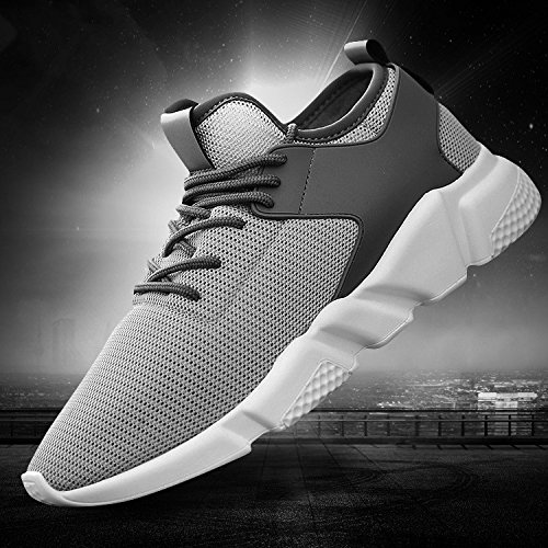 : 9, Color: Black US Size Otado Outdoors Clothing /& Shoes Fashion Men Athletic Casual Shoes Mesh Breathable Sports Running Training Sneakers -