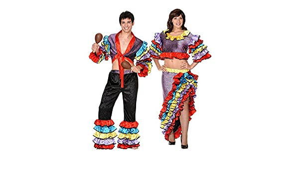 Disfraz de manisera. Talla 40/42.: Amazon.es: Ropa y accesorios