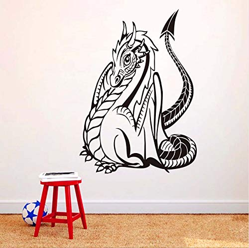 ponana Huge Monster Dragon Silhouette Wall Decals Art