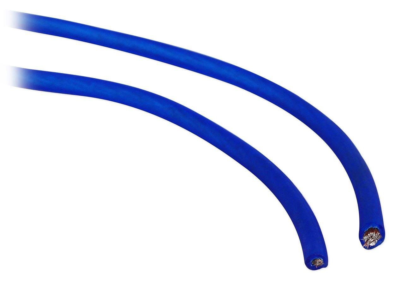 Rockville RWK01 0 Gauge Complete Car Amp Wiring Installation Wire Kit w// RCAs