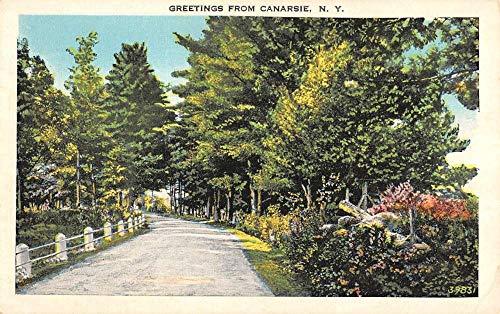 Canarsie New York Scenic Roadway Greeting Antique Postcard K7876408