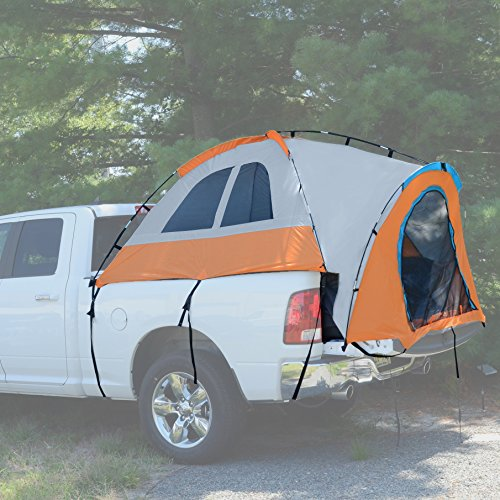 Milliard Truck Tent | Standard 6.5ft Bed | Gray/Orange