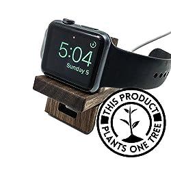 Apple Watch stand wood, Apple Watch Dock wood, Wood Apple Watch Stand, Apple Tech Gifts, Apple Watch Gifts, Birthday tech gifts, tech gifts him/her Apple watch stand for 38mm 40mm 42mm 44mm