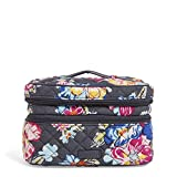 Vera Bradley Iconic Jewelry Train Case, Signature Cotton, pretty Posies