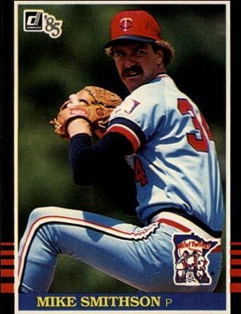 Amazoncom 1985 Donruss Baseball Card 316 Mike Smithson