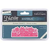 Crafter's Companion DEDGE-FLO Floral Dance Die'sire Edge'ables Cutting & Embossing Die (Limited Edition)