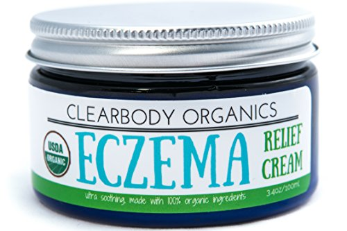 Eczema Relief Treatment Cream- Advanced Healing, Ultra Soothing Organic Moisturizer- Instant and Lasting Natural Relief For Adults & Children- With Organic Aloe Vera, Shea Butter, Beeswax & Vitamin E