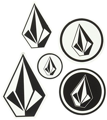 Volcom Men's Sticker Pack, Black/White, O/S from Volcom
