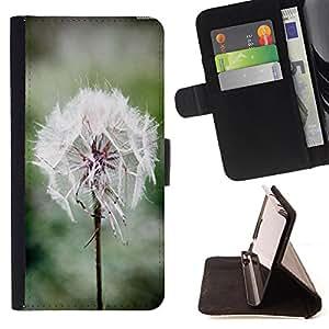 - Dandelion/ Personalizada del estilo del dise???¡Ào de la PU Caso de encargo del cuero del tir????n del soporte d - Cao - For Samsung Galaxy S6
