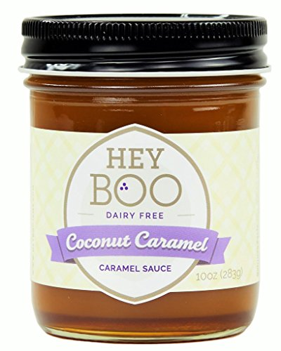 Coconut Caramel Sauce by Hey Boo - Delicious - No Corn Syrup - Vegan - Made in USA, 10 oz ()