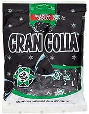 Golia Gran Golia Caramelle Gommose Morbide al Gusto di Liquirizia, Formato Scorta da 180 gr Ciascuna