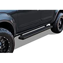 "Matte Black 5"" iBoard Running Boards Fit 05-17 Nissan Frontier/Equator Crew Cab"