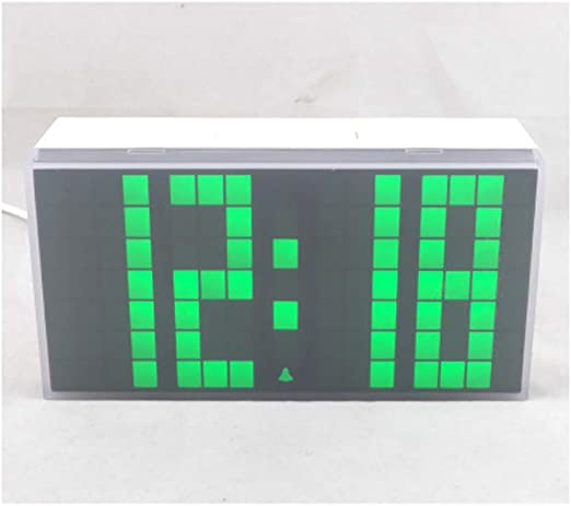 YOUDAN Reloj Despertador Digital 3D Reloj Despertador multifunción ...