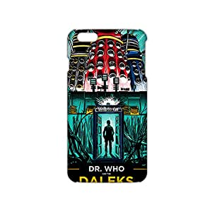 Ultra Thin Doctor Who Dr. Who & the Daleks 3D Phone Case for iPhone 6