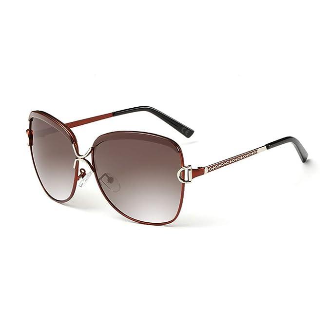 f07b0a5d6887 AMZTM Gafas de Sol Moda Polarizadas de Gran Tamaño para Mujer