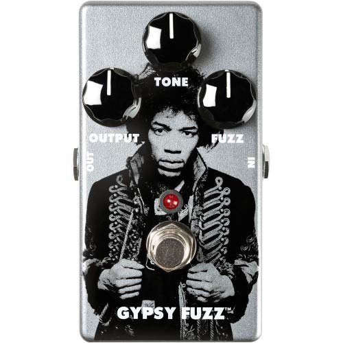 - Dunlop JHM8 Jimi Hendrix Gypsy Fuzz Pedal Limited Edition 1500 pcs Worldwide (