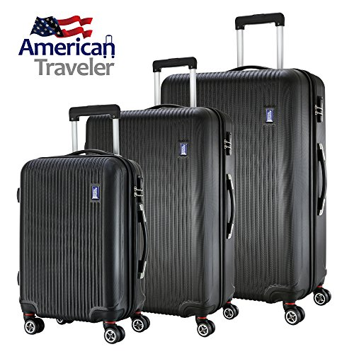 3-piece-luggage-set-by-american-traveler-lightweight-anti-scratch-glossy-striped-suitcase-durable-ab