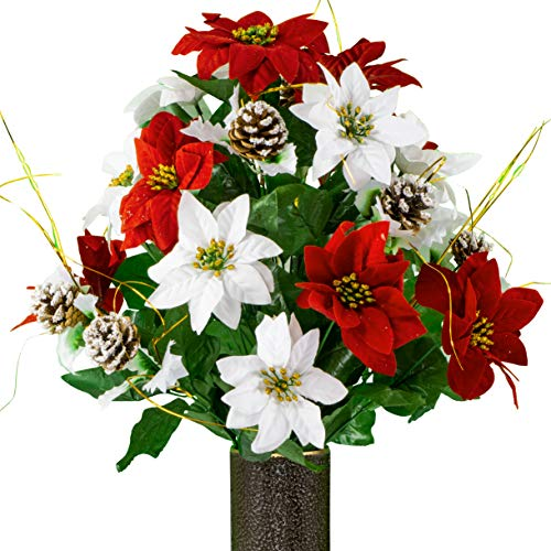 Top christmas floral arrangements for cemetery for 2020