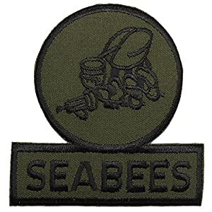 Seabees Patch Subdued