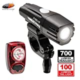 Cygolite Metro 700 and Hotshot 100 Bike Light Combo Set