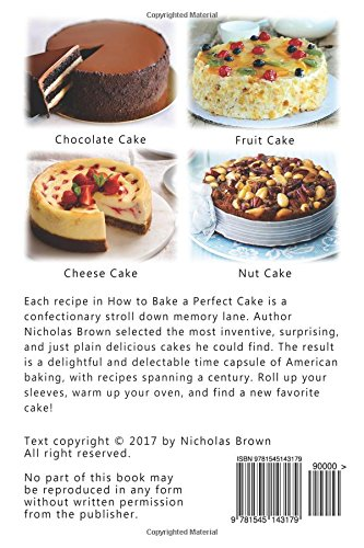 How to Bake a Perfect Cake 50 Best Homemade Cake Recipes Nicholas