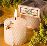 Red cherry beewax candles smokeless