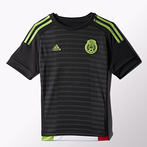 Adidas Mexico Home Youth Jersey-BLACK (XS) by adidas
