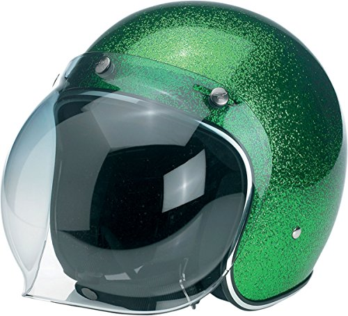 Biltwell Unisex Adult Inc. Gradient Green 3-snap Bubble Shield - Bv Sunglasses