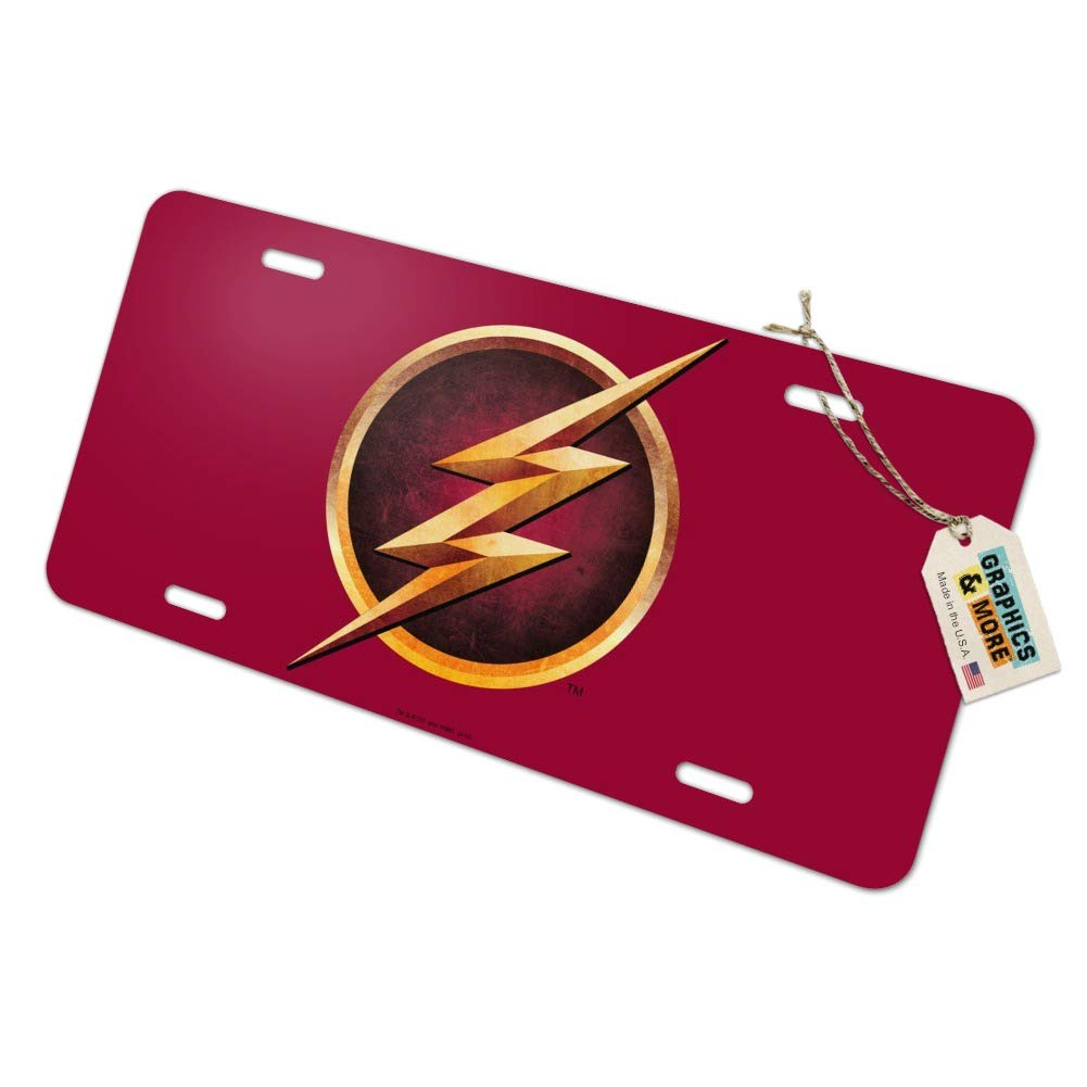 Graphics and More The Flash TV Series Logo Novelty Metal Vanity Tag License Plate