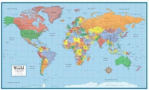 世界 地図 高 画質