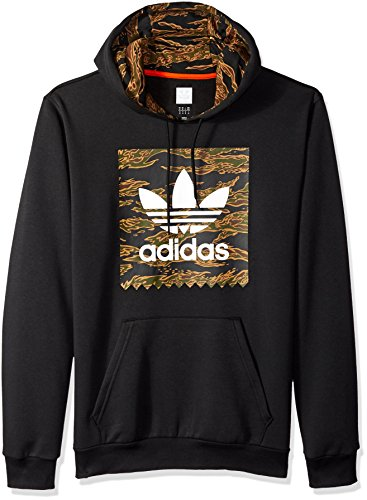 adidas Originals Mens Skateboarding Camo Blackbird Hoodie