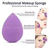 BEAKEY 5 Pcs Makeup Sponge Set Blender Beauty
