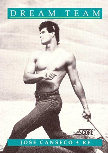 1991 Score #441 Jose Canseco Dream Team Baseball Card - No - Collectible Dream