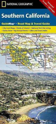 National Geographic 2006 Southern California Guide Map, Road Map, & Travel Guide (National Geographic GuideMaps) (Road Map Southern California)