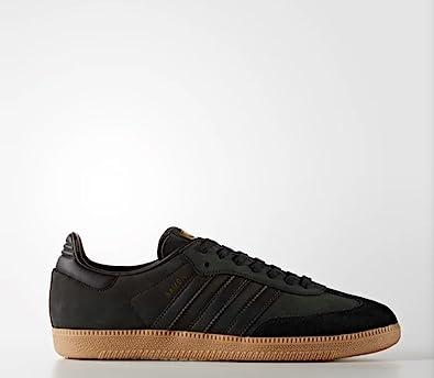 adidas BZ0063 Men Samba Cblack Goldmt