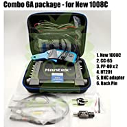 Hantek _BMT_ Combo 6A New 1008C / CC-65 Current clamp / 2pcs PP80 60MHz Probe / 2pcs Back pin/BNC to Multi-Meter Adapter / HT201 20:1 Attenuator