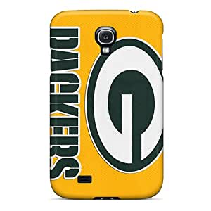 JoanneOickle Samsung Galaxy S4 Best Hard Phone Cover Support Personal Customs Beautiful Green Bay Packers Image [gKC7032owLW]