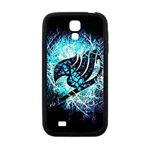 Blue shiny Fairy Tail Cell Phone Case for Samsung Galaxy S4