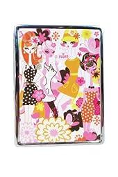 Fluff Milan 60\'s Groovy Fashion Girls ID Mirror Case