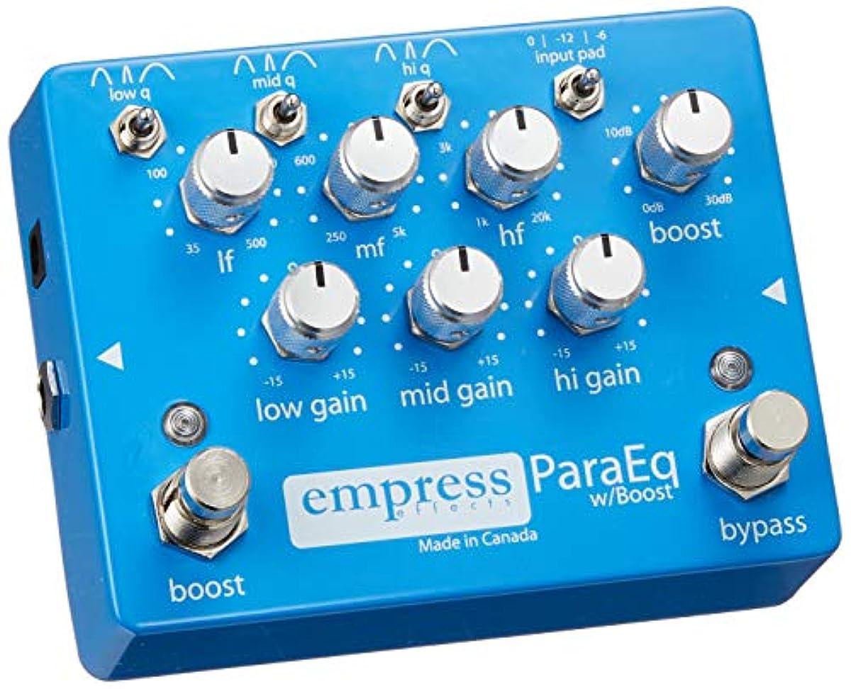 [해외] EMPRESS EFFECTS 엔푸레스에후쿠토 EQ(이퀄라이저) 부스터 기퍼터 이펙터 PARAEQ W/BOOST