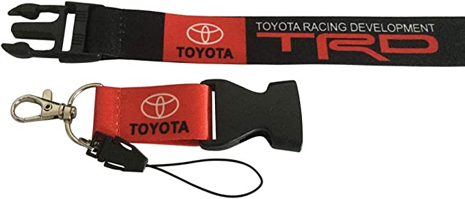 Motorcycle Motorsport Cview Premium Quality Lanyard /& Key Chain Tag for Car,Truck RV Office ID TRD House Keys ATV Gifts Work with Fashion Accessories UTV Scooter SUV