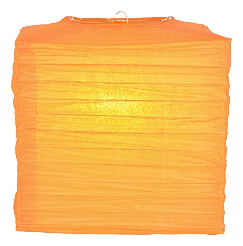 PaperLanternStorecom-10-Orange-Square-Shaped-Paper-Lantern
