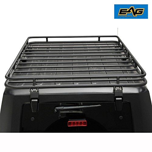 Eag Roof Rack Cargo Basket 5 X 7 X 9 7 With Mounting