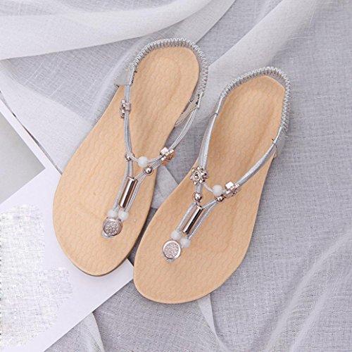 IGEMY Zapatos con Tacón de Terciopelo Mujer