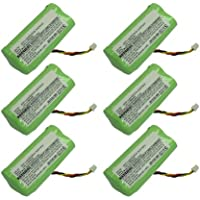 6pc Exell Barcode Scanner Battery For Symbol LS4278 Replaces 82-67705-01 USA SHIP