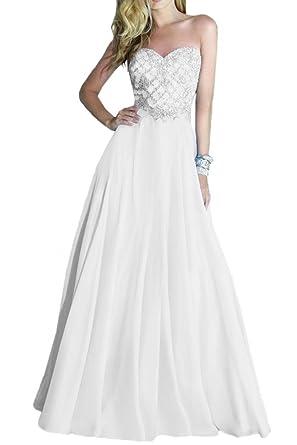 MengLu Women\'s Full Zipper Sample Prom Wedding Dress Bridal Gown at ...