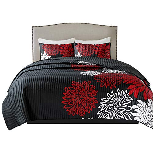 red and white comforter - 3