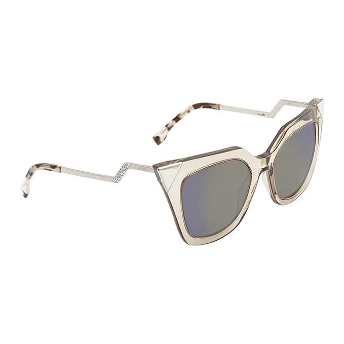 Amazon.com: Fendi Iridia - Gafas de sol de esquina para ...