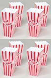 Set of 8 Popcorn Plastic Container Box Tub Bowl - Presentation is Everything