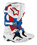 Alpine stars Tech 10 Men's Dirt Bike Motorcycle Boots - P...
